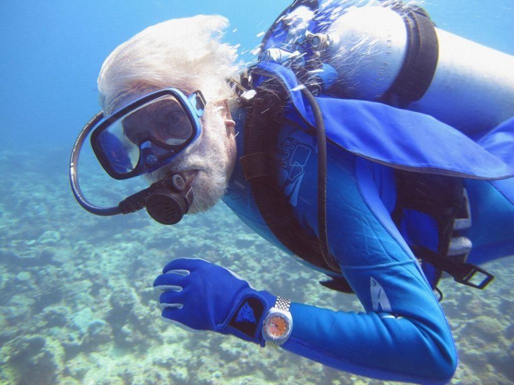 Fabien Cousteau, petit-fils du célébrissime plongeur