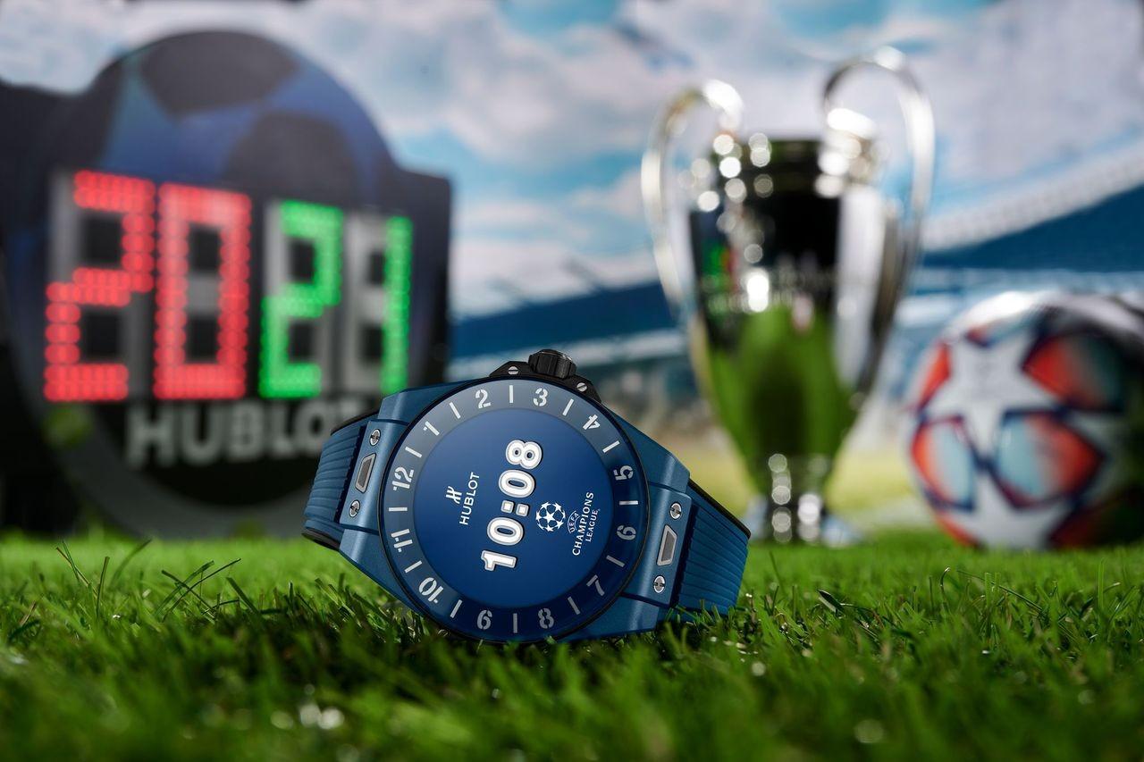 Hublot présente la Big Bang e UEFA Champions League