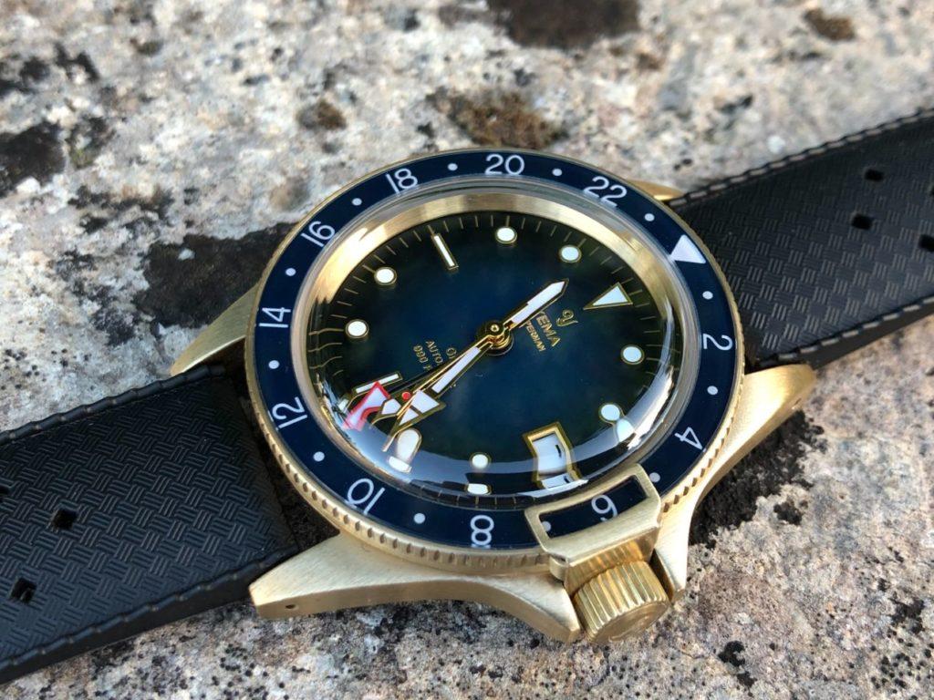 Superman GMT Bronze Blue 39 mm