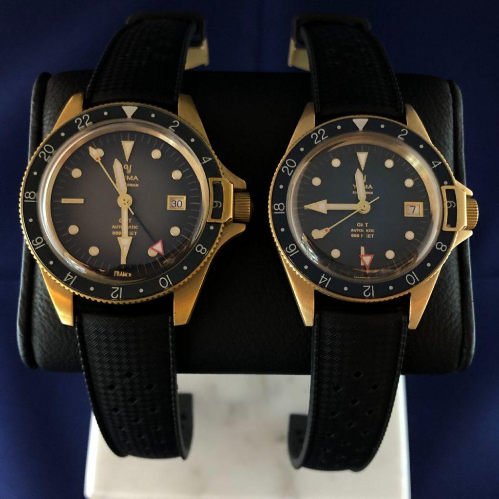 Deux montres, une seule ambition : le succès !