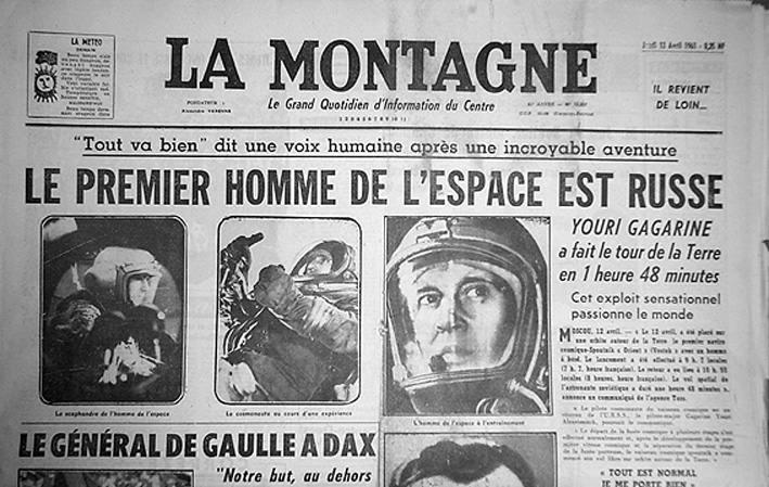 Youri Gagarine, premier homme dans l'espace