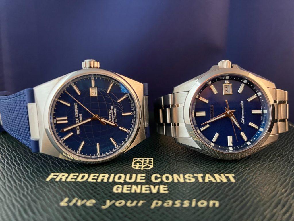 Frederique Constant et The Citizen symbolisent l'excellence selon Templus