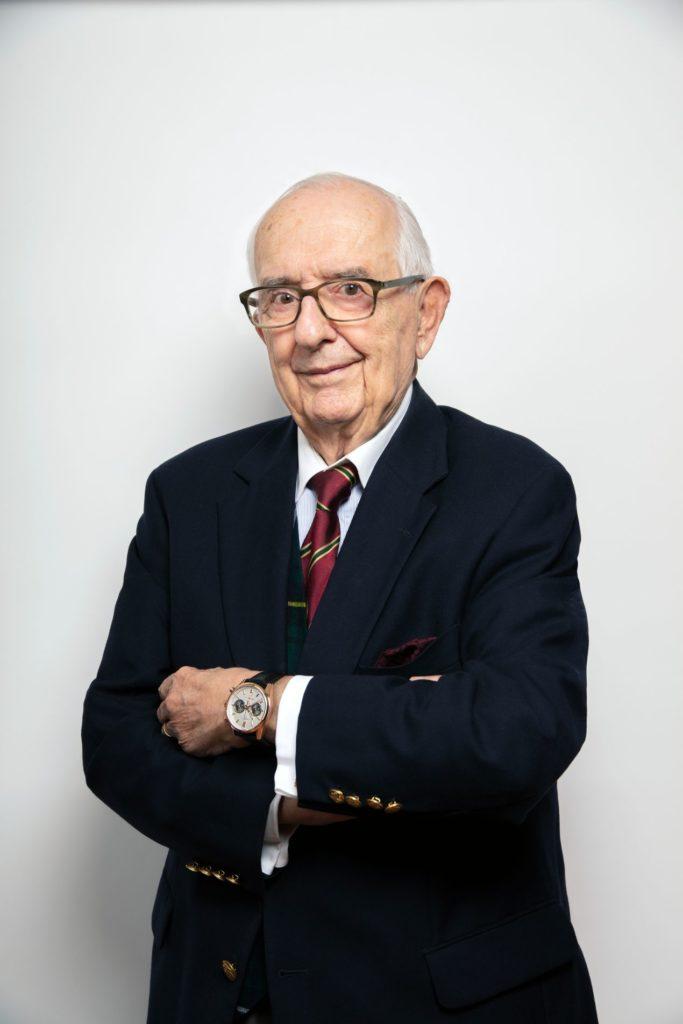 Le fringant Jack Heuer, passionné d'horlogerie et de courses automobiles