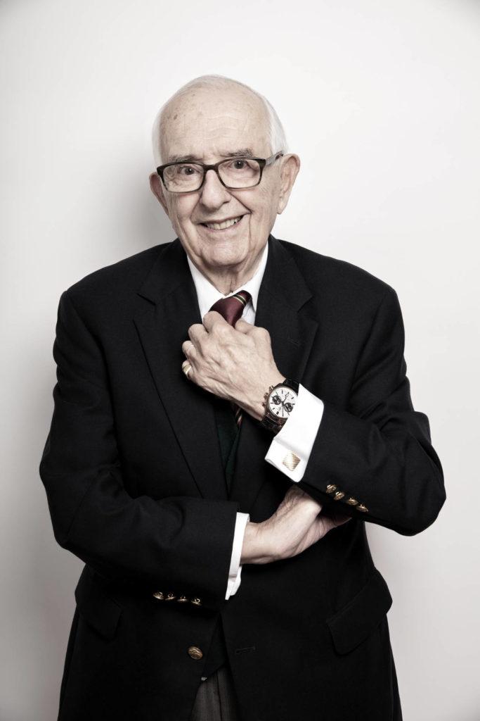Jack Heuer, un homme passionné et tellement attachant...