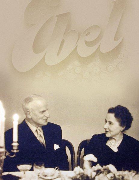 Eugène et Alice Levy-Blum, fondateurs d'Ebel et de Mouvex 1911