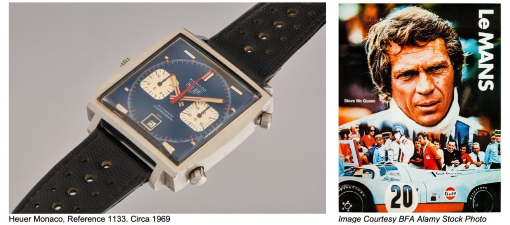 La montre et la légende