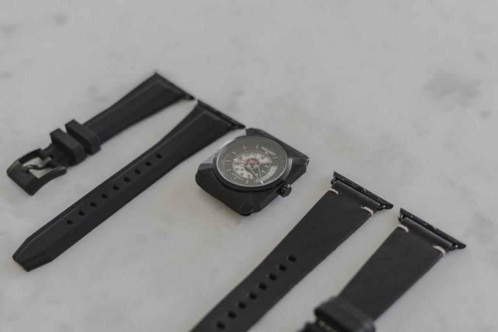 Une collection quasi infinie de bracelets adaptables sur cette montre