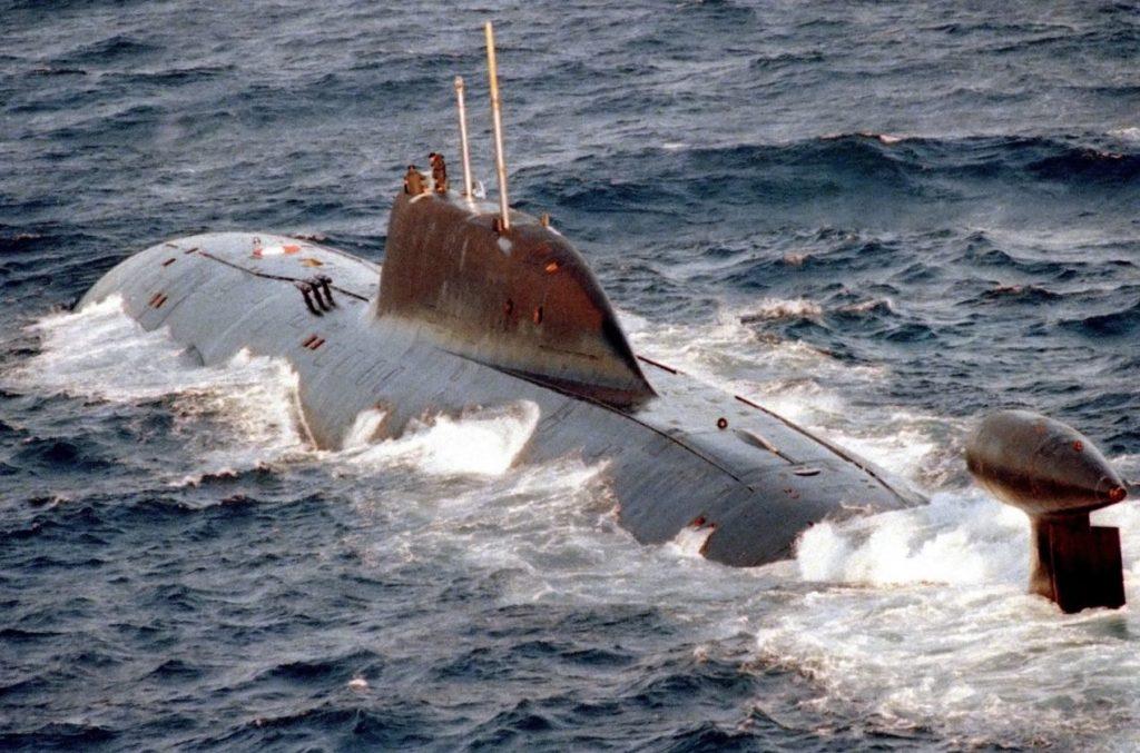 Un sous-marin nucléaire d'attaque de classe Akula.