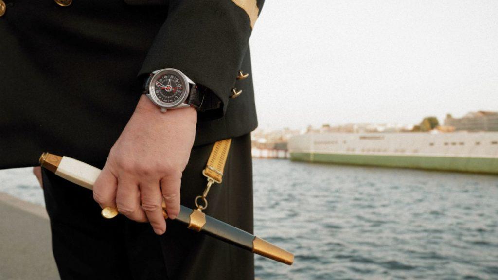 Valery Dyakonov confie avoir retrouvé son sous-marin grâce à cette montre.