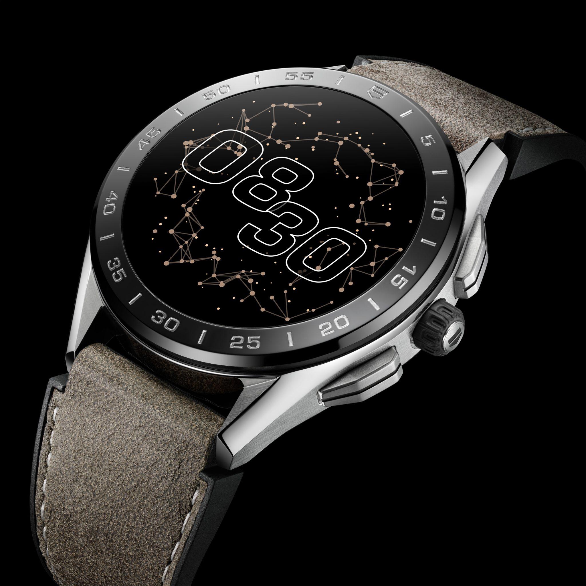 TAG Heuer optimise sa montre connectée de Luxe
