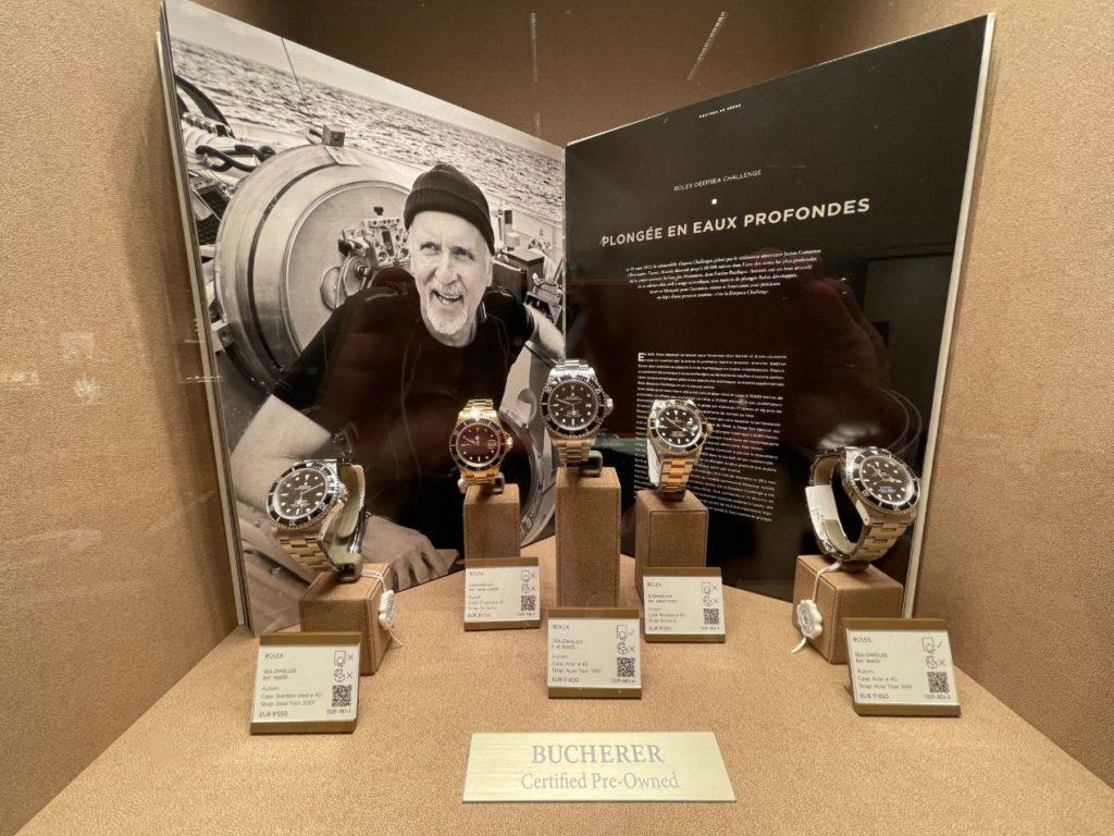 Des montres iconiques sont proposées aux collectionneurs