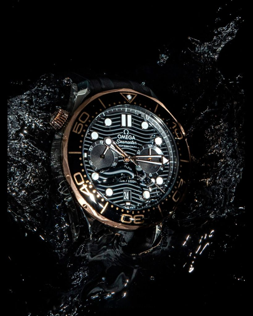Omega Seamaster Diver's 300m Chronographe Co-Axial