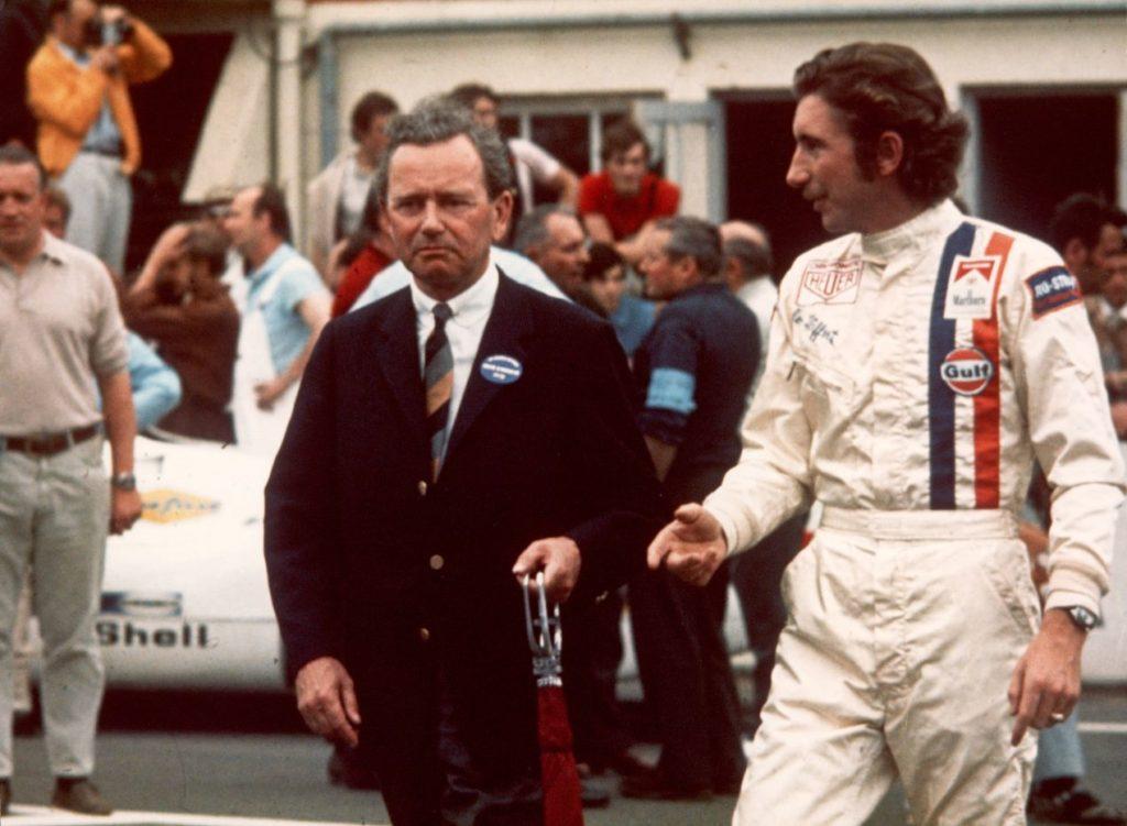 Ferry Porsche et Jo Siffert