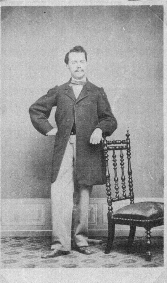 Edouard Heuer en 1860