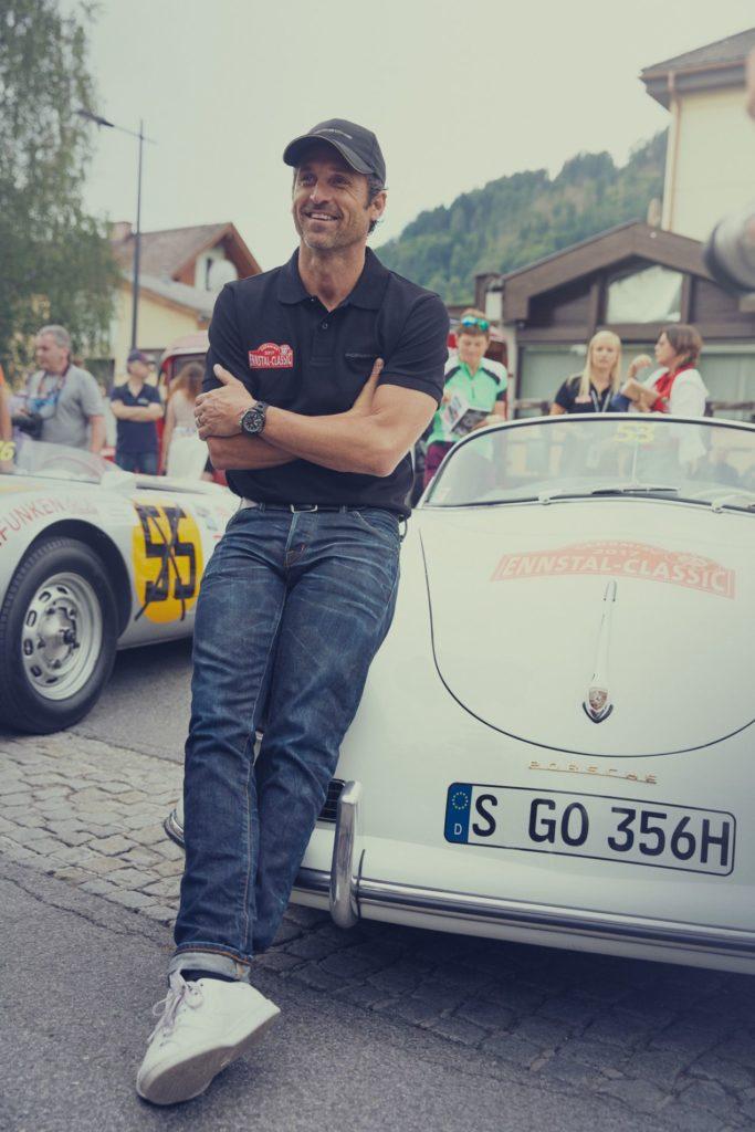 Patrick Dempsey ambassadeur TAG Heuer et pilote automobile
