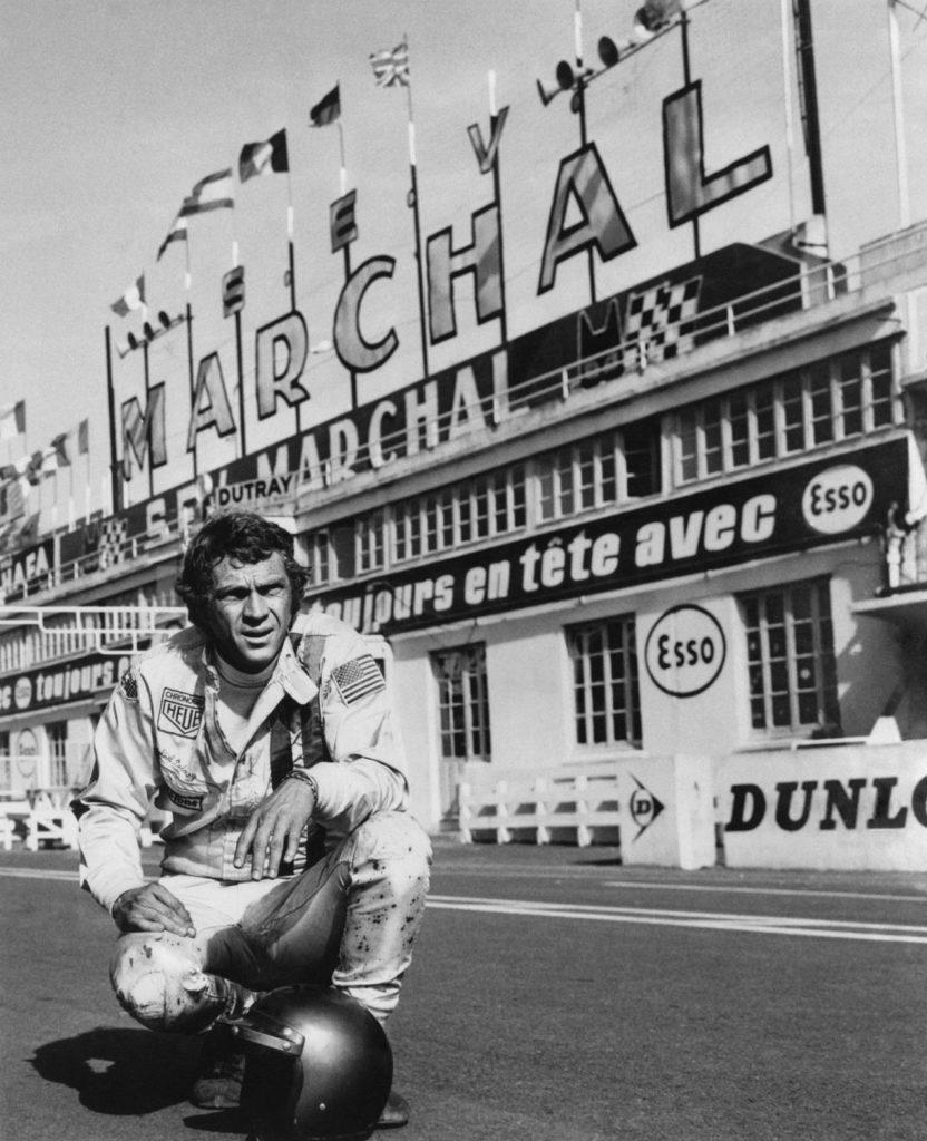 Steve McQueen dans le film Le Mans en 1970