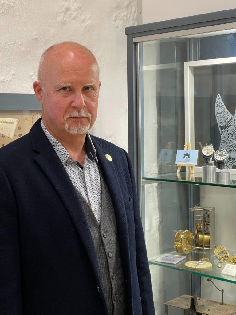 Roy Baierlein, horloger depuis plus de 40 ans !