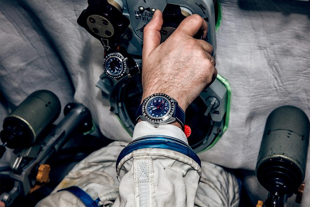 Une montre portée quotidiennement dans l'espace depuis sa création !