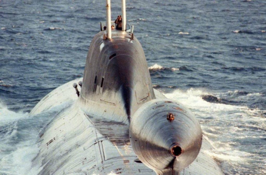 """Le """"Léopard"""", sous-marin nucléaire d'attaque"""