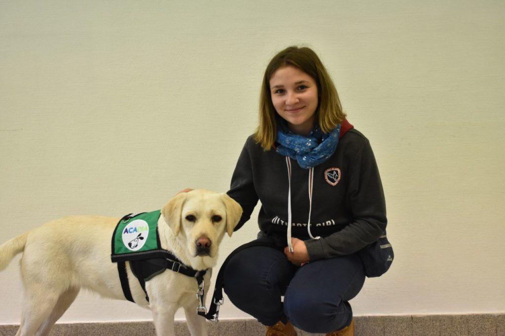 L'association Acadia forme des chiens d'assistance aux personnes diabétiques.