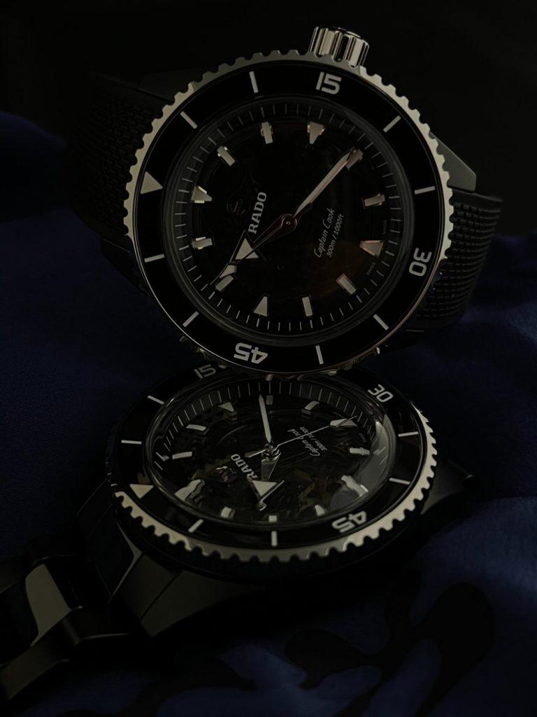 Captain Cook High-Tech Ceramic : Black is beautiful !