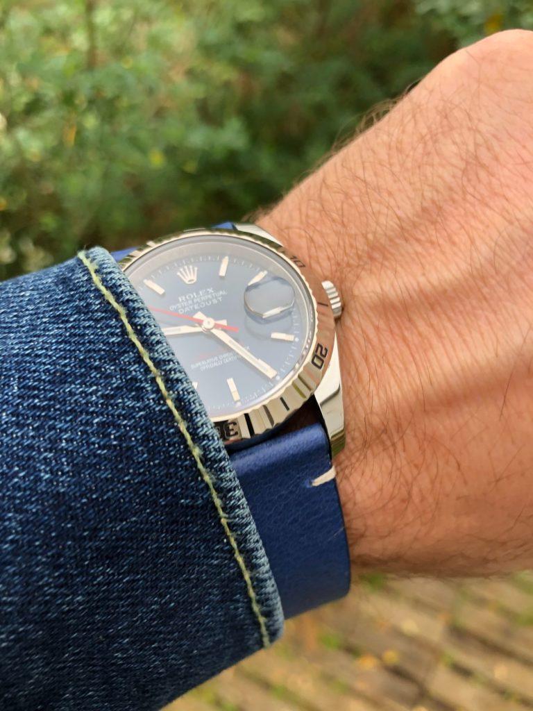 """The French Bracelet """"Le Bleu"""" sur Rolex TOG"""