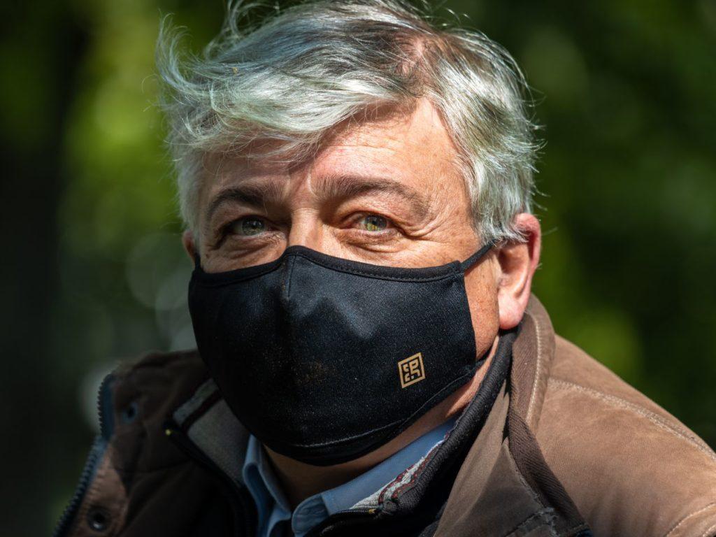 Masque réalisé par Passion Horlogère.