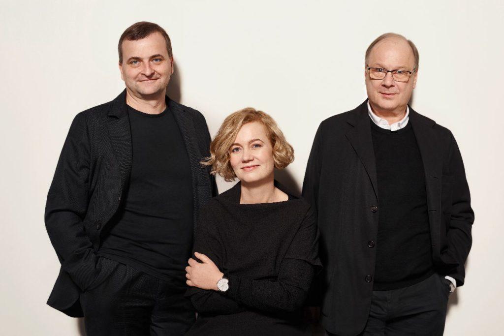 Uwe Arendt, Judith Borowski, et Roland Schwertner, les trois dirigeants de Nomos Glashütte