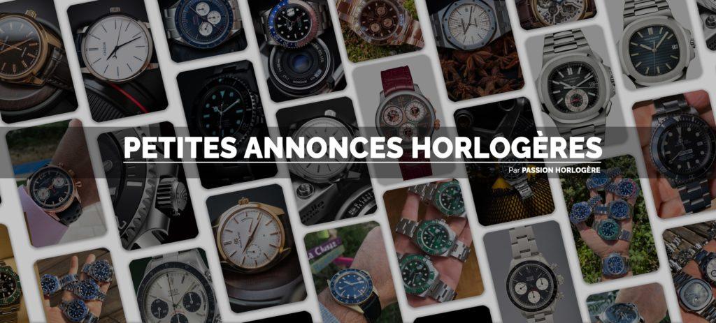 """Bannière du groupe """"Petites Annonces Horlogères"""""""