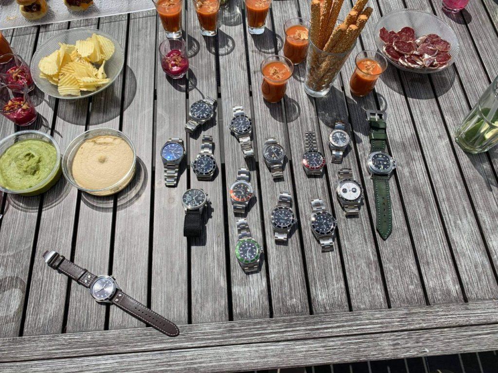 Le premier déjeuner de membres du Club Rolex France s'est tenu en mai dernier.