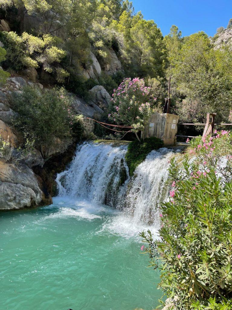 """Cascade de """"Las fuentes del Algar"""" à Alicante"""