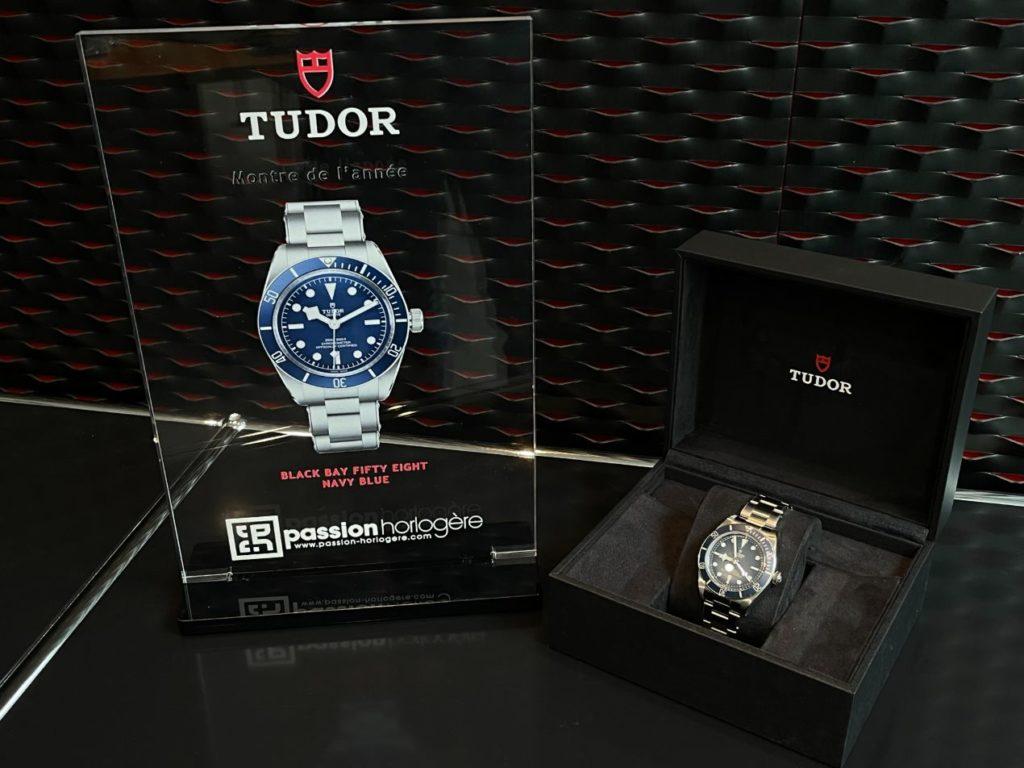 Le trophée et la montre récompensée !