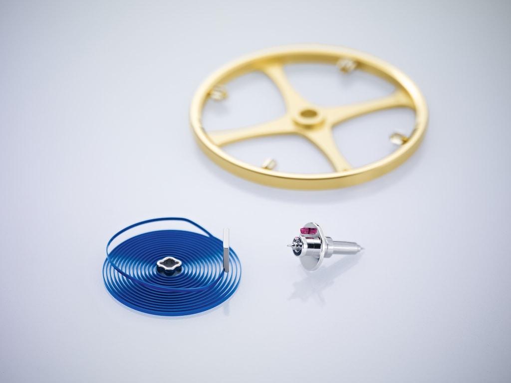 Spiral et balancier, composants essentiels de l'organe réglant de votre Rolex !