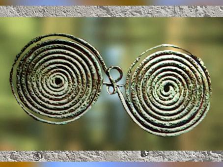 Fibule romaine qui aurait inspiré Huygens