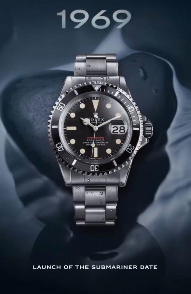 Rolex Submariner ref 1680 de 1969 : un collector !