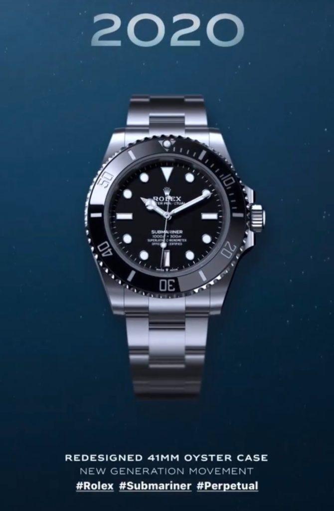 Dernière née des Rolex Submariner, la ref 124060 apparue en 2020.