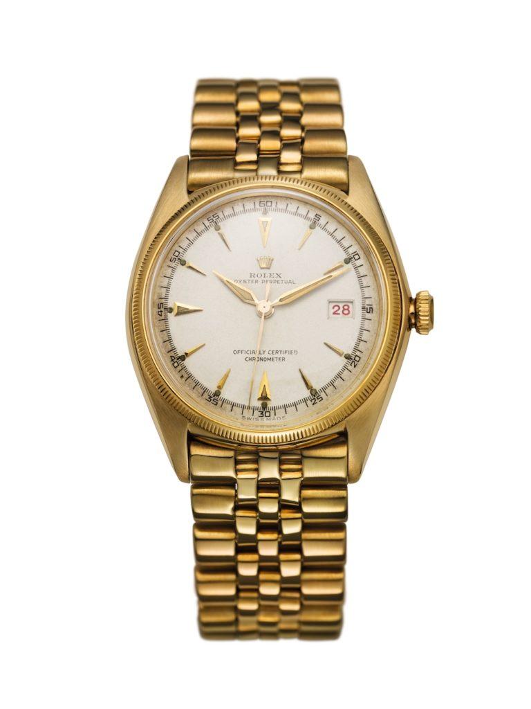 "La première Datejust, en 1945, sera ""Officially Certified Chronometer""."