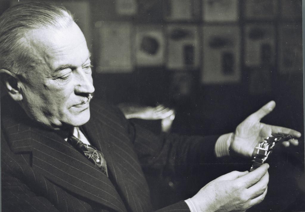 Hans Wilsdorf, fondateur de Rolex.