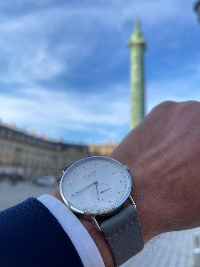 Nomos Metro neomatik 41 Update au cœur du luxe parisien