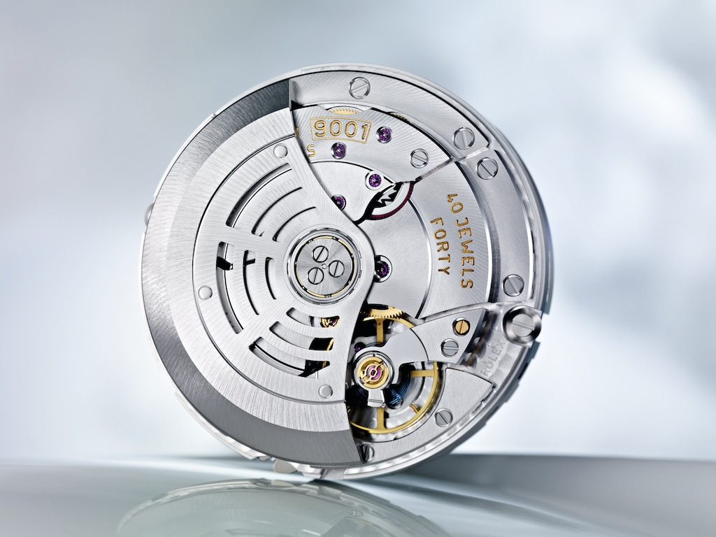 Calibre 9001 équipant les Rolex Sky-Dweller