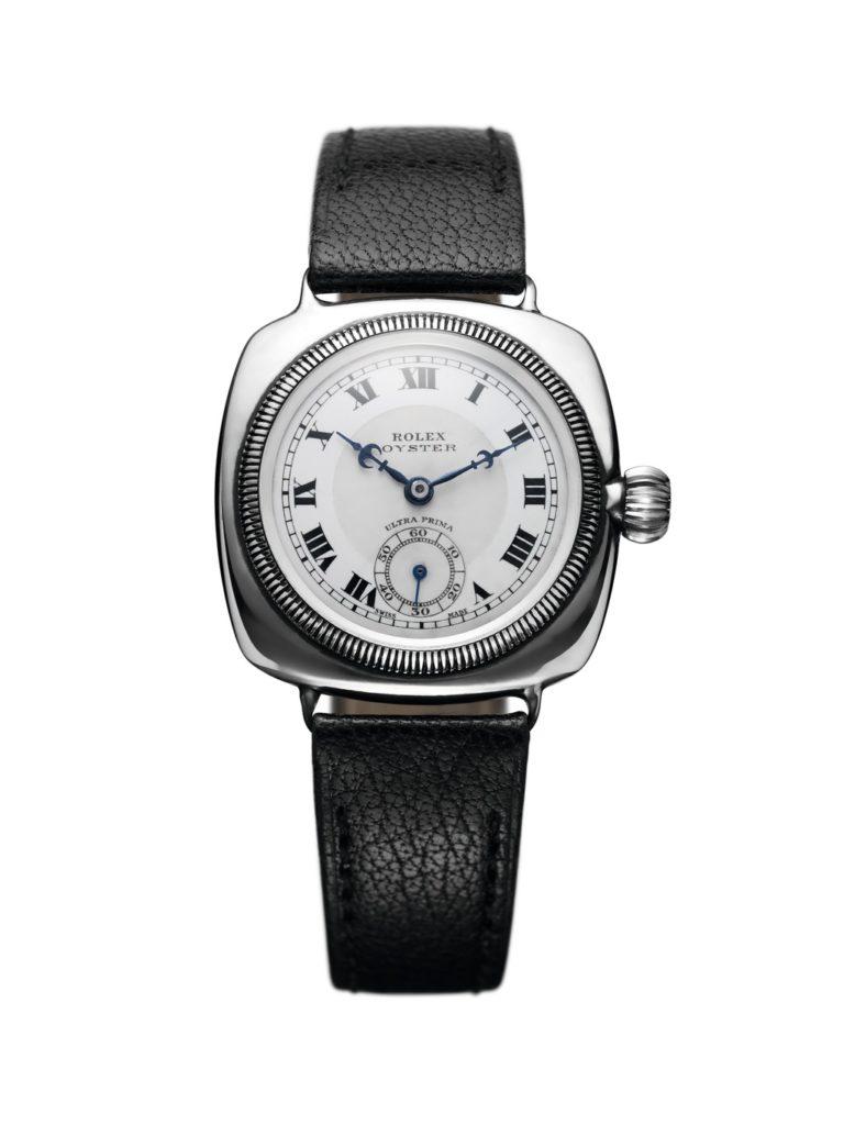 La Rolex Oyster, première montre étanche, en 1926.