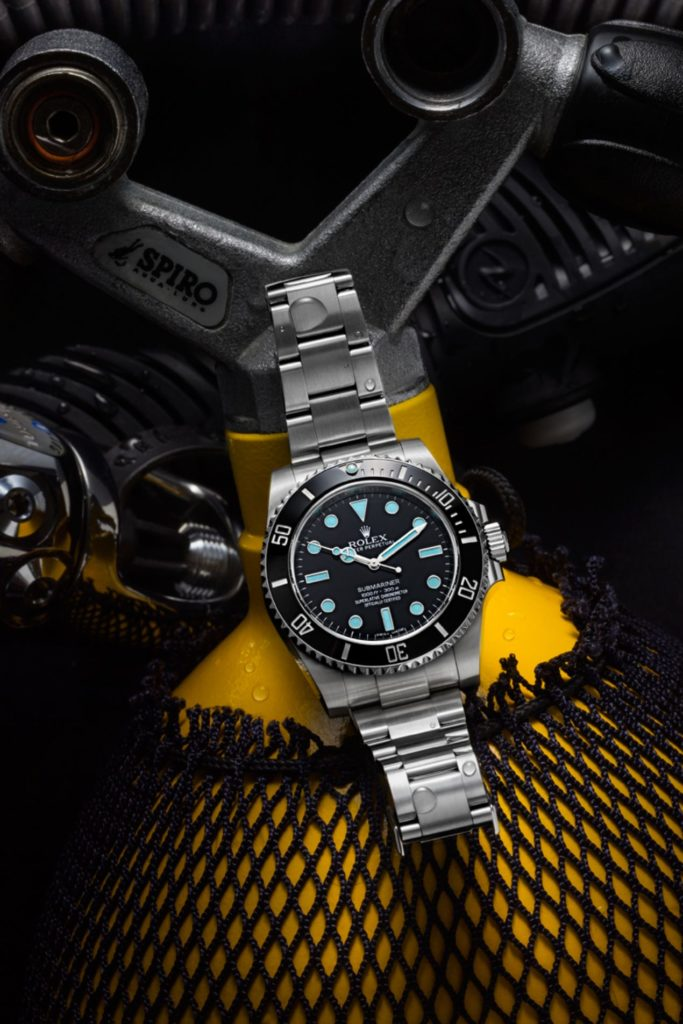 La Rolex Submariner 114060 photographiée par Jacques-Olivier