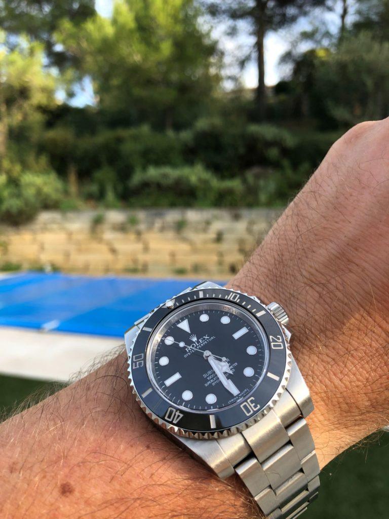Wristshot de ma Rolex Submariner